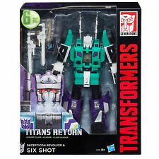 Transformers Titans Return Leader Sixshot Action Figure NEW