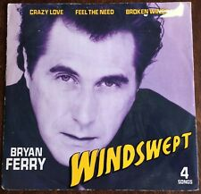 "BRYAN FERRY,WINDSWEPT,12"" VINTAGE LP 45,EXCELLENT CONDITION."