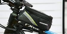 Motorcycle Bike Phone Holder Waterproof Bag Case 5.5'' Mobile Phone GPS IPhone 6