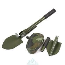 Multifunction Military Folding Shovel Tools With Compass Camping Army Green