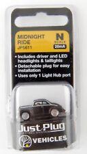 N Scale Midnight Ride Just Plug Vehicle (20mA) - Woodland Scenics #JP5611