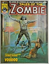 mm Tales of the Zombie (1973) #4vf/nm Boris Cover