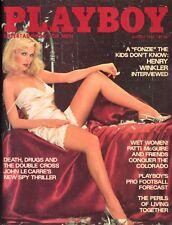 PLAYBOY AUGUST 1977 Karen Christy Julia Lyndon Henry Winkler Patty McGuire MLR