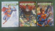SUPERMAN: NEW KRYPTON VOLUME 1 2 3 NEW Hard Cover GN HC