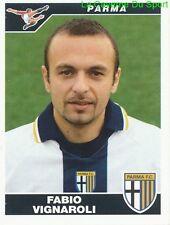 FABIO VIGNAROLI ITALIA PARMA.FC RARE UPDATE STICKER CALCIATORI 2005 PANINI