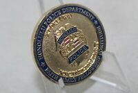 19th President 2011-2015 International Conference of Police Challenge Coin