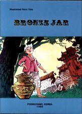 BRONZE JAR North Korea Illustrated Fairy Tale book for Children DPRK kdvr corea