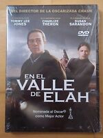 DVD,En el Valle de Elah.Tommy Lee Jones,Charlize Theron,Nueva Precintada