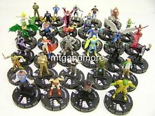 Heroclix-superman/wonder woman ensemble complet Commons + uncommons #1 - #32