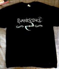 Evanescence 2018 Concert Tour Tshirt Sz L New