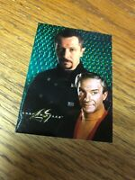 1998 Lost in Space Prism Dr Zachary Smith Chase Card DF7!  NM!!
