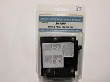 Interchangeable Circuit Breaker 30 Amp Single Pole Icbq-130 30A Auction 35