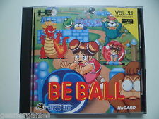 PC ENGINE GT CORE DUO HU CARD BE BALL BOXED TESTED