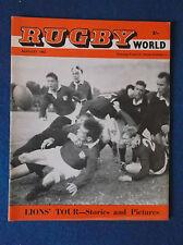 Rugby World August 1962 magazine.