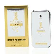 Paco Rabanne 1 Million Lucky 50ml Eau De Toilette EDT Spray For Men Brand New