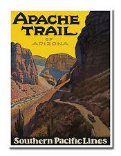 "Arizona Landscape Travel Poster Art Vintage Print 12x16"" Nostalgia XR618"