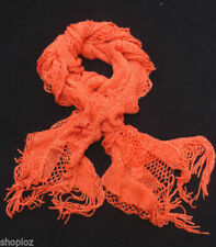 Ruffle Patternless Women's Scarves and Shawls