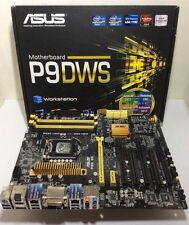 AS-IS, ASUS P9DWS, INTEL C226 CHIPSET, LGA1150, DDR3, HDMI DVI, ATX, 7JN10