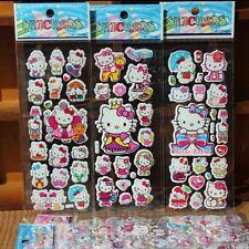 5pcs/lot Bubble Stickers 3D Cartoon Hello Kitty Animals Cat Classic Toys