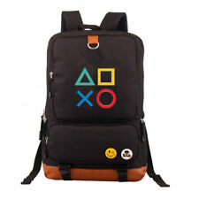 PlayStation PS4 School Backpack Anime Gamers Unisex Shoulder Laptop Travel Bags