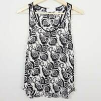 A.L.C  | Womens Silk Print Top RRP$400+ [ Size S or AU 10 / US 6 ]