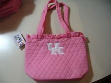 """Collegiate Collection: University Kentucky (pink) 12"""" small tote bag purse (NEW)"""