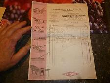 Machine Agricole Lacroix Edmond St Julien sur Suran Jura