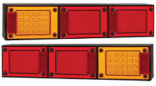 PAIR LED COMBO LIGHTS TRUCK TRAILER SEMI FLOAT J3BARRM