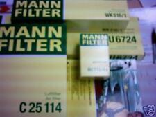 Mann&Hummel Paquete de filtro BMW 5er E39 aire aceite combustible-. y