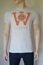 NEW Abercrombie & Fitch Kempshall Mountain Oatmeal Warriors Tee T-Shirt M
