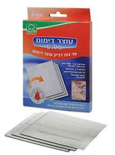Israeli Blood Clotting Agent Adhesive Gauze Pad Bandage Dressing EMT IFAK Hemcon