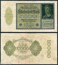 ALEMANIA GERMANY 10000 Marcos 1922 Pick 72  MBC- / VF-