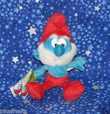 New Smurf Papa Plush Vintage Style Mini Plush Papa Smurfs Fast Ship USA Seller