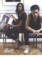PUBLICITE ADVERTISING 2011   PATAUGAS baskets chaussures pret à porter