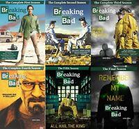 Breaking Bad Individual Season DVD Sets 1 2 3 4 5 or 6 Golden Globe Emmy Awards