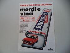 advertising Pubblicità 1977 BROOKLYN CHEWING GUM GOMME e FORD FIESTA