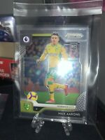 2019-20 Panini Prizm Premier League MAX AARONS LOT (5) Norwich City Soccer