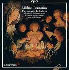 Praetorius - Puer natus in Bethlehem Advent and Christmas Music - Cordes -CD Neu