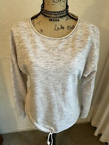 Women's Size Small Pullover Sweatshirt Top Activewear/Loungewear Gray RuffHewn S
