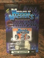 1:64 Raw Roadster MUSCLE MACHINES BLOWN / SUPERCHARGED