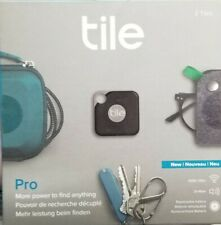 *NEW* Tile Pro Smart Tracker 2 Pieces - Black