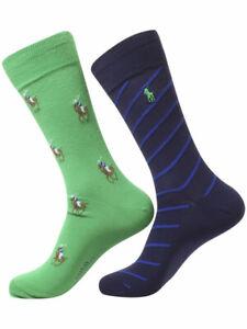 Polo Ralph Lauren Men's Trouser Socks Signature Pony 2-Pairs