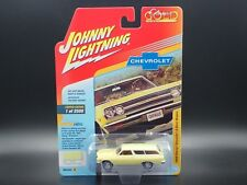JOHNNY LIGHTNING 1965 CHEVY CHEVELLE  2 DOOR WAGON CLASSIC GOLD  VS.A REL 3