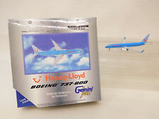 MES-58113Gemini 1:400 Boeing 737-800 Hapag Lloyd sehr guter Zustand,