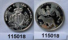 Bimetallmünzen G1580 San Marino 500 Lire 1996 R Km#357 Top Erhaltung Bimetall