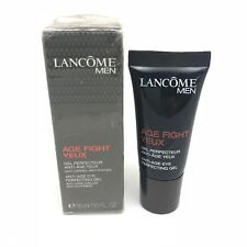 Lancome MEN Age Fight Yeux Anti-Age Eye Perfecting Gel 0.5 fl oz / 15 ml NIB