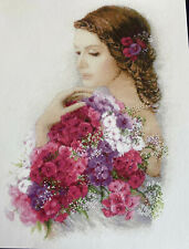 "Beautiful Counted Cross Stitch KIT By RIOLIS - ""Summer Delight"" Complete"