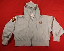Vintage 49ers 1996 50th Anniversary Cadre hoodie sweatshirt size Large