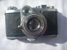 ZEISS Kamera NETTAX No. A48108 mit Tessar 2,8/5cm No. 1578013 Gehäuse Cr-Verlust