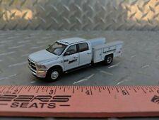 1/64 CUSTOM farm toy dodge 3500 case ih dealer service pickup truck greenlight